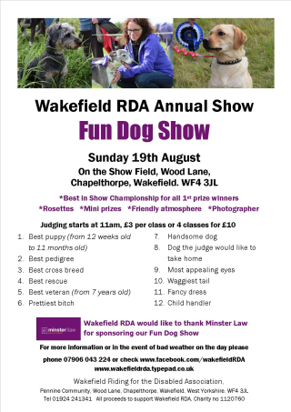 Dog Show 18 Schedule